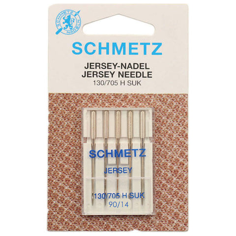 Schmetz Jersey/Ballpoint Sewing Machine Needles, Size 90 - 5 pack