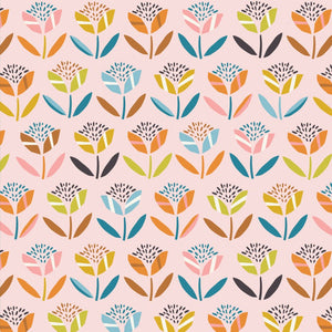 Dashwood Studio - Hanging Around - Flowers on Pink