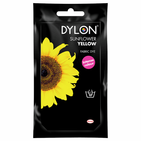 Dylon Hand Dye Powder 50g - Sunflower Yellow