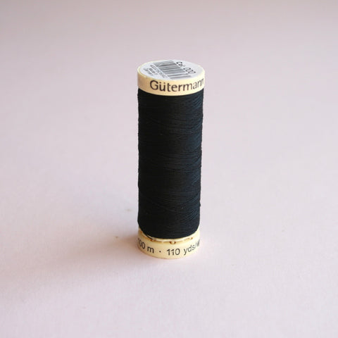 Gütermann Sew-All Polyester Thread Spool 100m - 000 - Black
