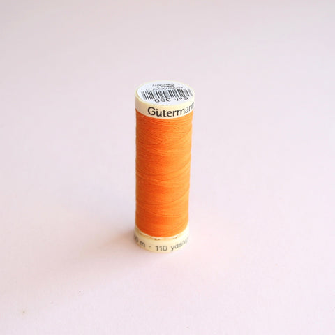 Gütermann Sew-All Polyester Thread Spool 100m - 350 - Orange