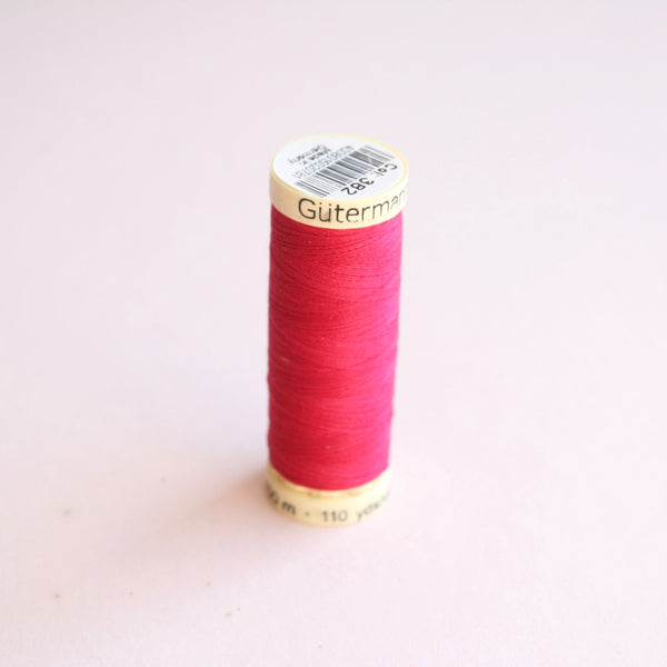Gütermann Sew-All Polyester Thread Spool 100m - 382 - Pink