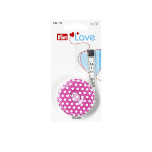 Prym Love Tape Measure 150cm - Pink