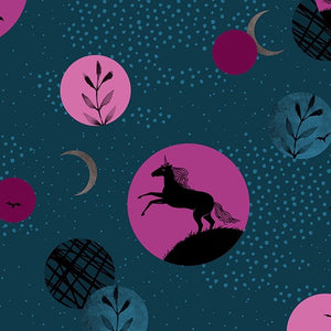 Ruby Star Society - Crescent - Unicorn Moon Dark Teal
