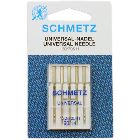 Schmetz Sewing Machine Needles - Universal, Size 90 - Pack of 5