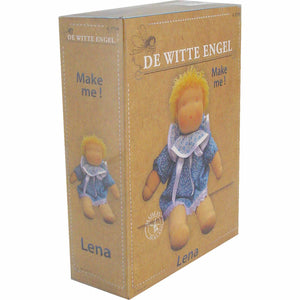 Lena Waldorf Doll Kit by De Witte Engel