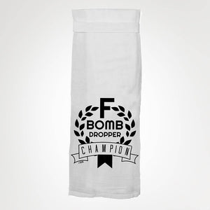 F Bomb Dropper KITCHEN TOWEL