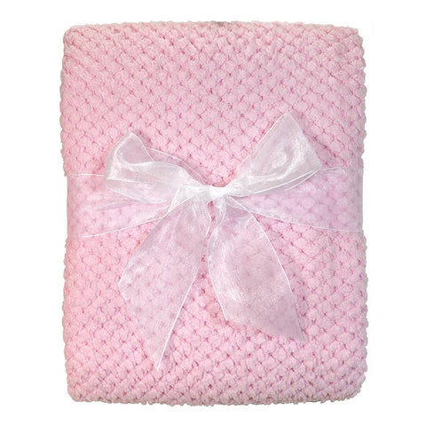 Blanket Corn Fleece - Pink
