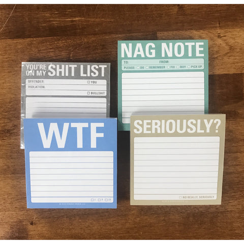 Not so nice post its