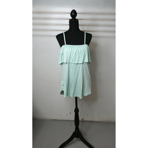 Mint loose fit spaghetti strap