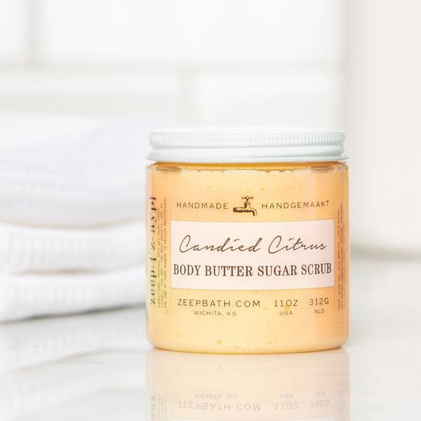 Zeep Body Butter Sugar Scrub