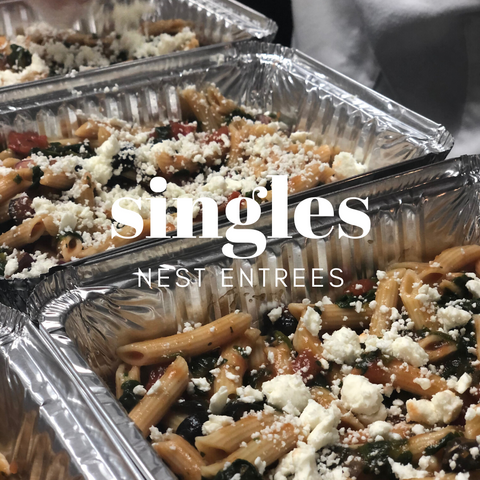 Freezer Meal Entree Singles