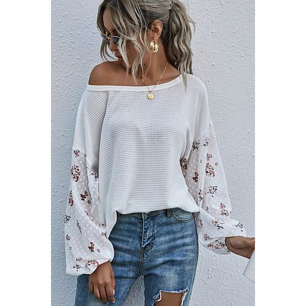 Blossom knit top