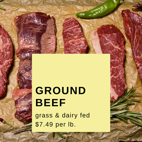 Ground Beef 2 lb. package