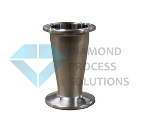 Stainless Steel Tri-Clamp Concentric Reducer