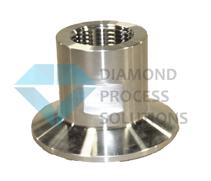 Stainless Steel Tri-Clamp Fitting -TC X Female NPT