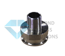 Load image into Gallery viewer, Stainless Steel Tri-Clamp Fitting -TC X Male NPT