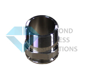 Stainless Steel Tri-Clamp Fitting -TC X Male NPT