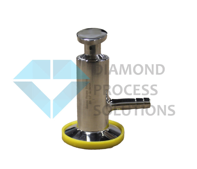 Stainless Steel Tri-Clamp Sample Valve