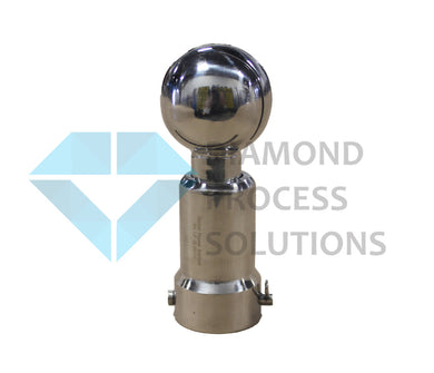 Stainless Steel Spray Ball (Rotating CIP) - Pinned Connection