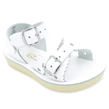 Load image into Gallery viewer, Sun-San Sweetheart Sandal White