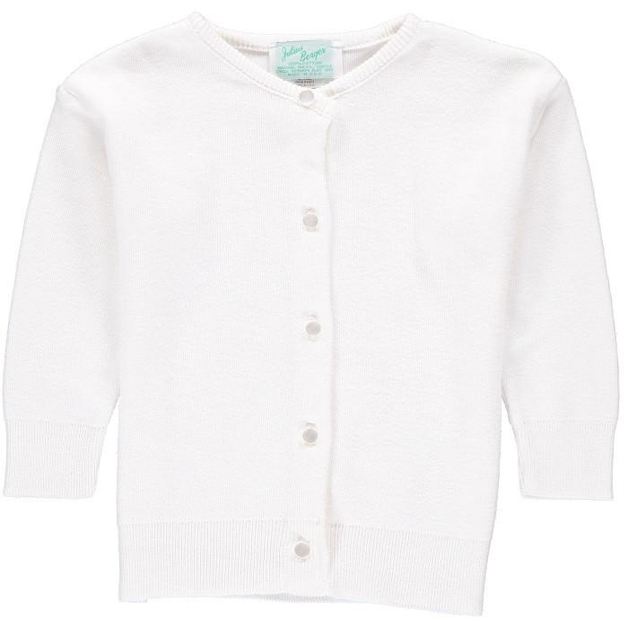 Cardigan Sweater - White
