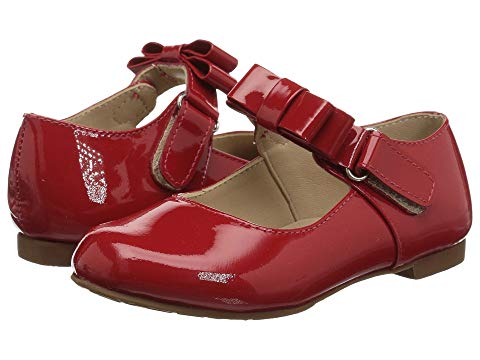 Charlotte Mary Jane - Patent Red