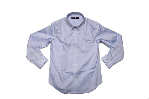 Bowen Arrow Button Down - Bluffton Blue