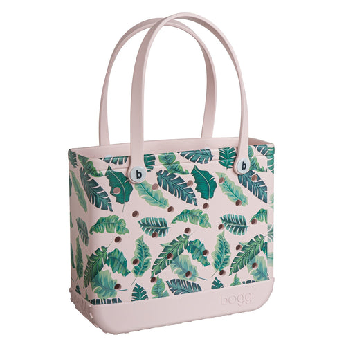 Baby Bogg Bag - Pink w/ Palm Leaves