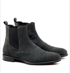 Chelsea Multi Boot - Grey Lux Suede