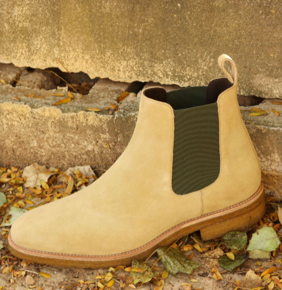 Chelsea Boot - Sand Lux Suede