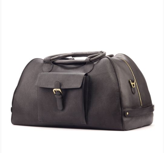 Fassona Handmade Leather Duffle Bag