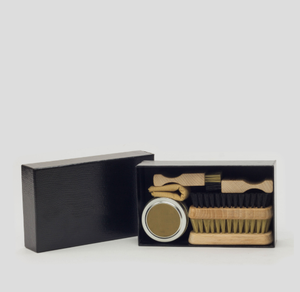 Fassona Leather Shoe Care Kit