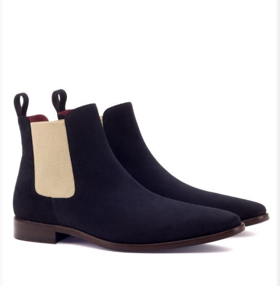 Chelsea Boot - Navy Lux Suede