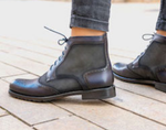 Women's Lace Up Brogue Boot