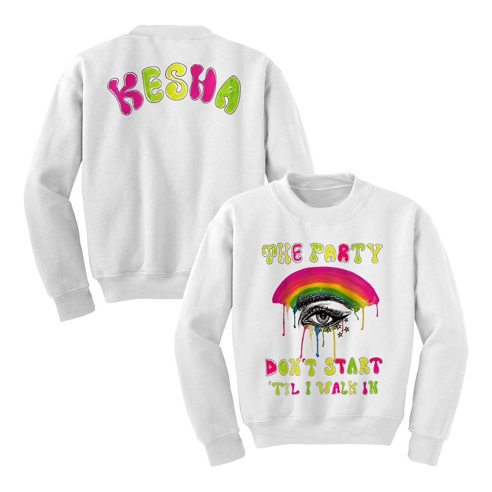 Party Don't Start Crewneck Sweatshirt
