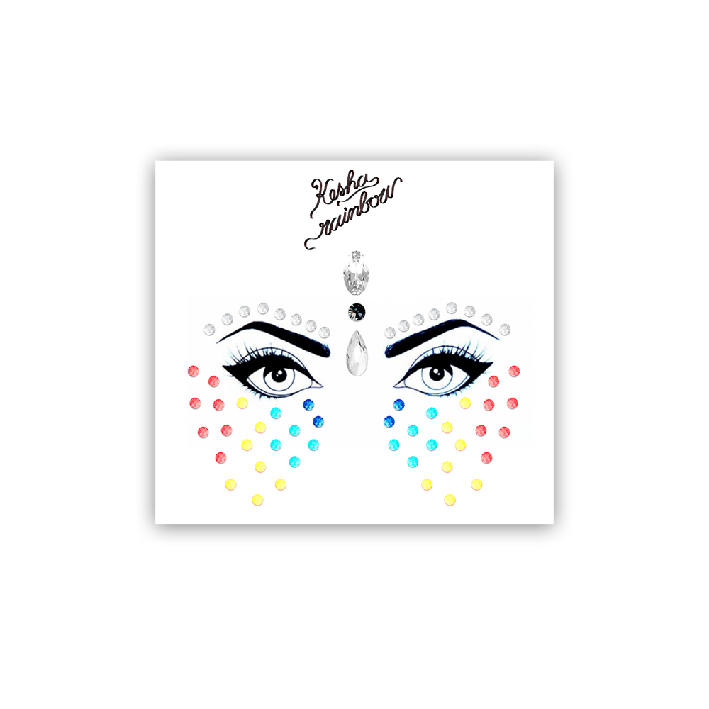 Kesha Rainbow Face Jewels-Kesha