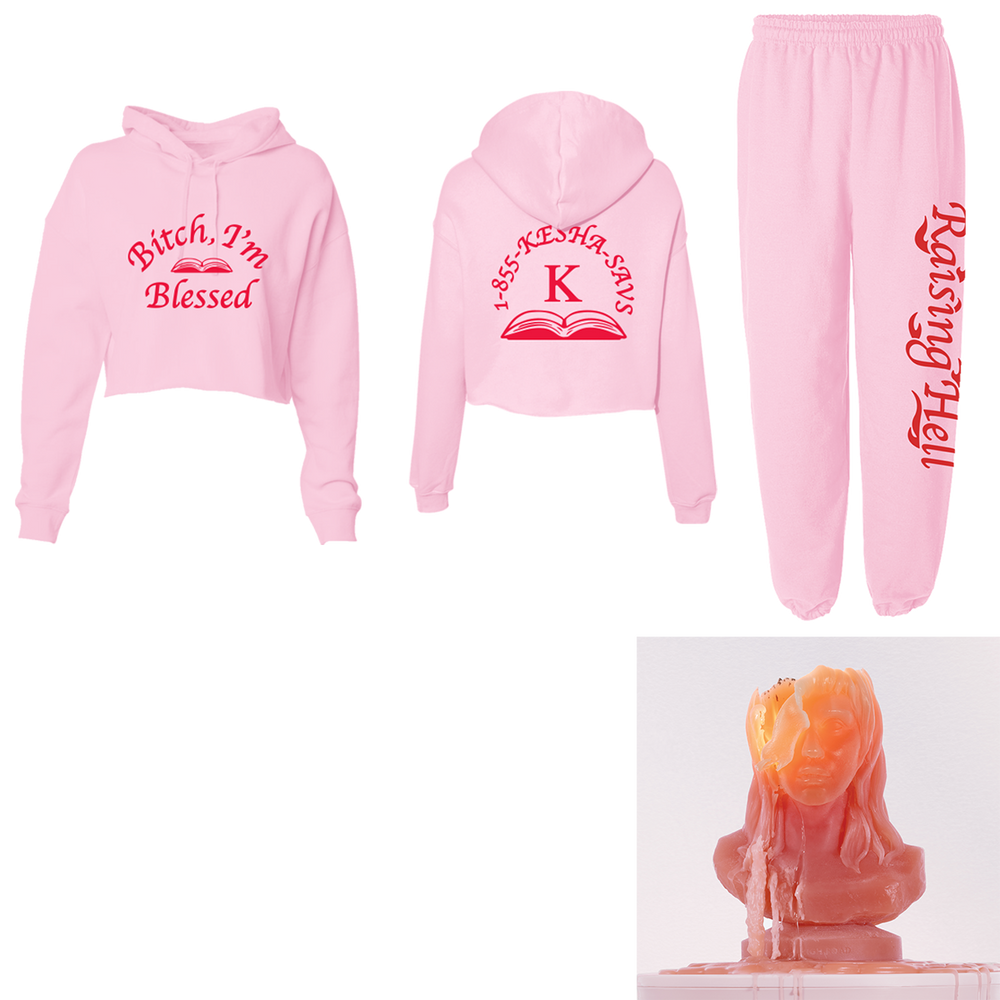 Raising Hell Sweatsuit + Digital Download-Kesha