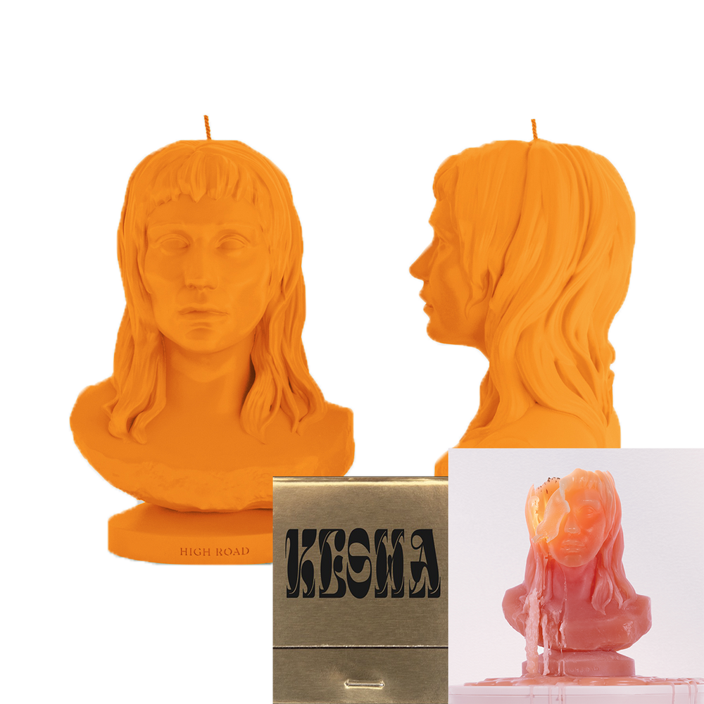 High Road Candle + Matchbook + Digital Download-Kesha