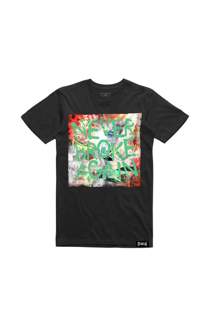 Sprayed T-Shirt - Black