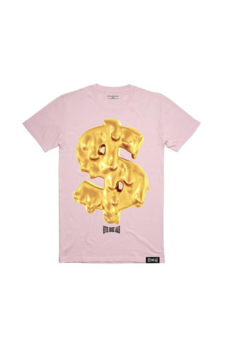 Dolla Drip T-Shirt - Pale Pink
