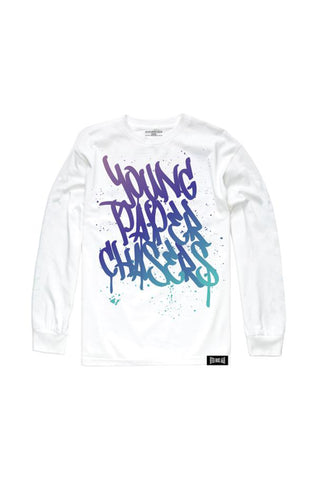 Young Paper Chasers Long Sleeve - White