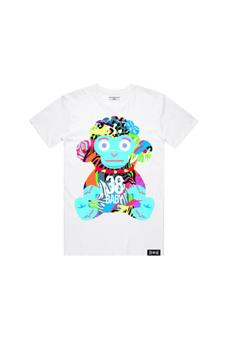 38 Baby Safari T-shirt - White