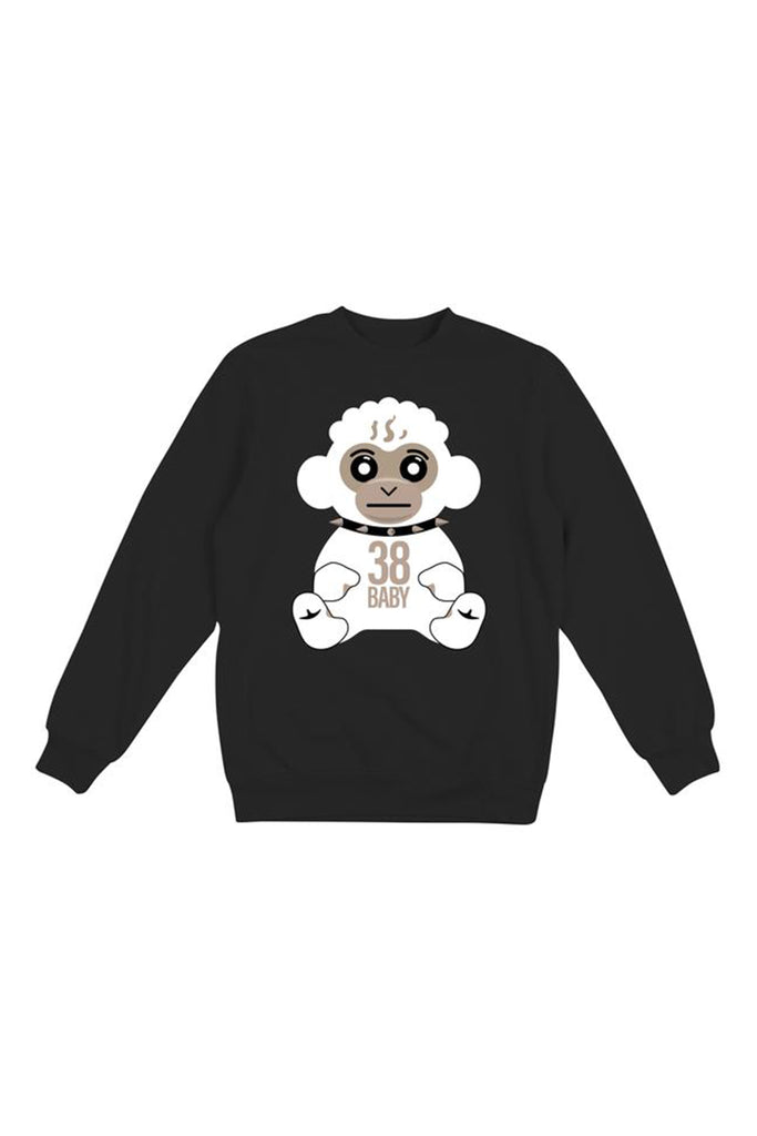 White Storm 38 Baby Crew Neck - Black