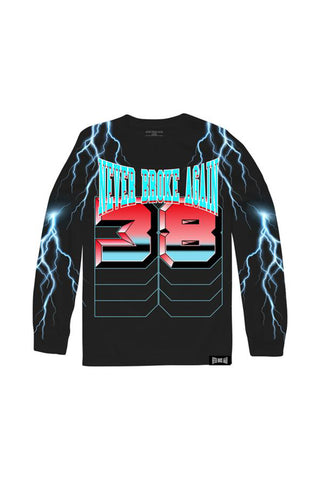 Lightning Long Sleeve - Black