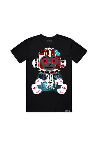38 Baby 2 Album Monkey T-Shirt - Black + 38 BABY 2 DIGITAL ALBUM
