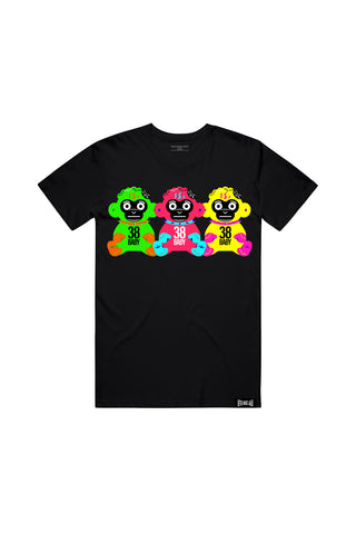 38 Baby Triples T-Shirt - Black + 38 BABY 2 DIGITAL ALBUM