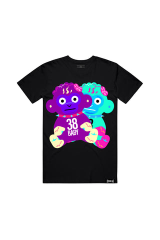 38 Baby Doubles T-Shirt - Black + 38 BABY 2 DIGITAL ALBUM