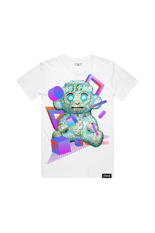 38 Baby Diamond T-Shirt - White + 38 BABY 2 DIGITAL ALBUM