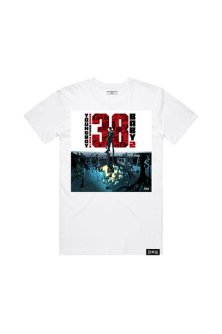 38 Baby 2 Album T-Shirt - White + 38 BABY 2 DIGITAL ALBUM